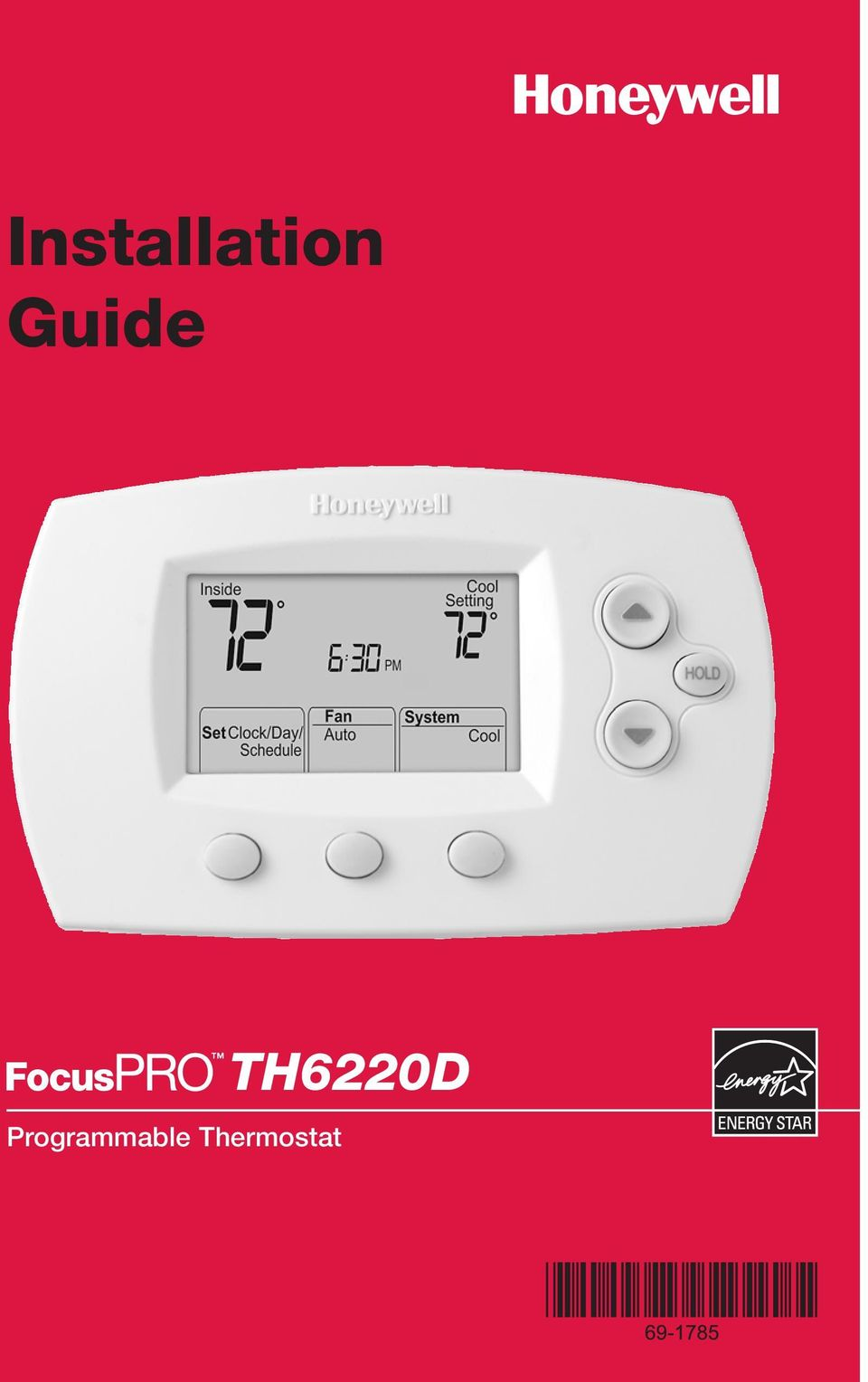 Th6220d Wiring Diagram Sample Honeywell Fan Control Installation Guide Programmable Thermostat Pdf 2 Product Application This Provides