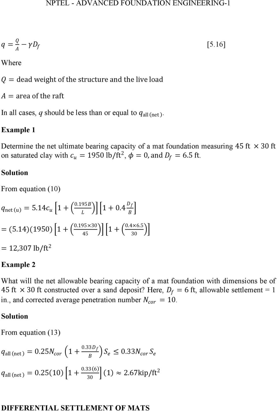 Module 5 (Lectures 17 to 19) MAT FOUNDATIONS - PDF