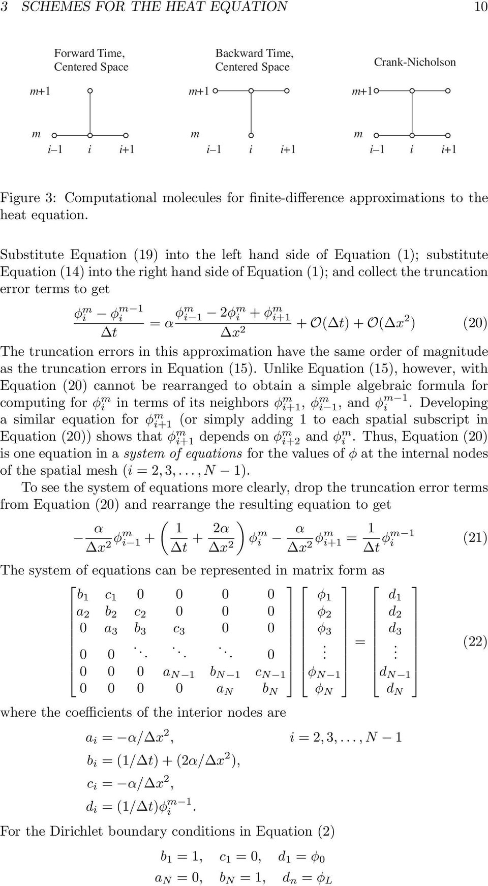 Finite-Difference Approximations to the Heat Equation - PDF