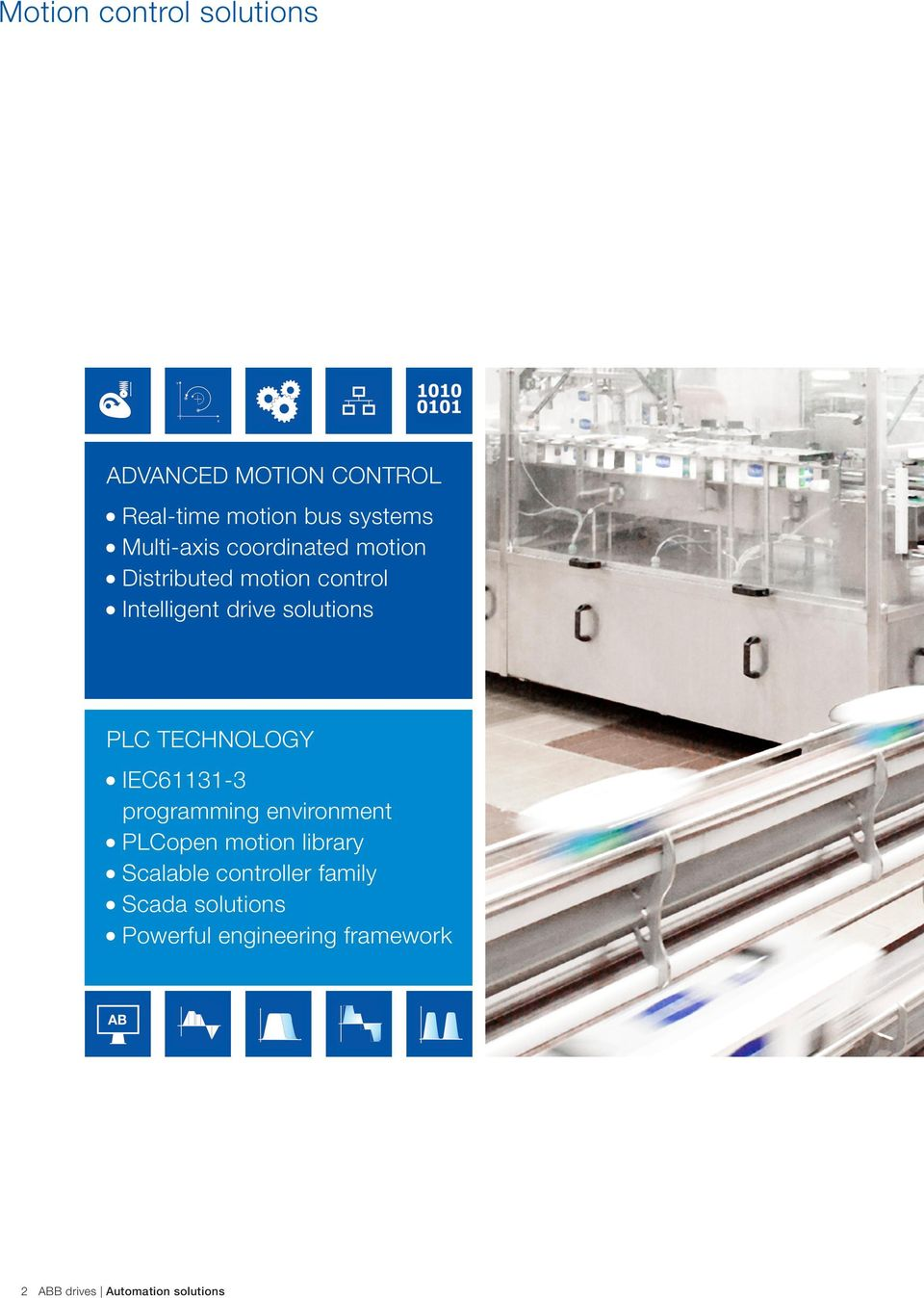 ABB drives  Automation solutions Drives, PLC, motion, motors and