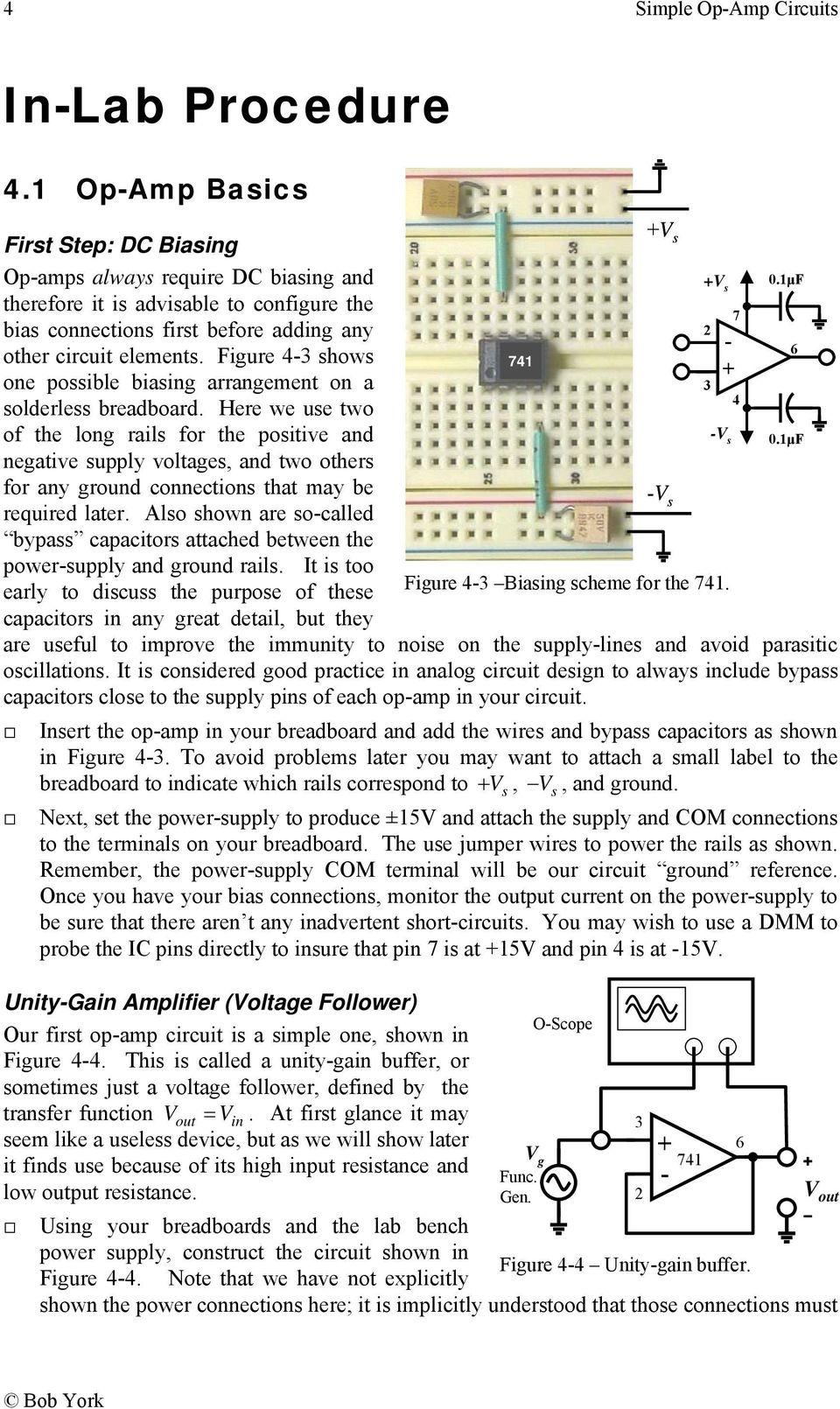 Simple Op Amp Circuits Pdf 741circuit1 Here We Use Two 4 Of The Long Rails For Positive And Negative Supply Voltages
