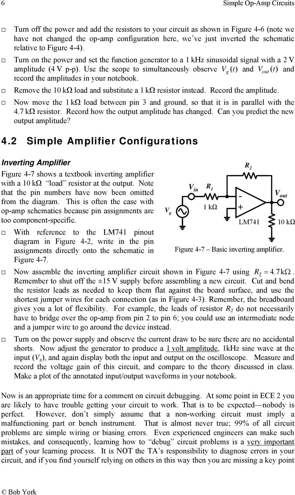 Simple Op Amp Circuits Pdf How To Disable A Single Opamp In Dual Packaging Use The Scope Simultaneously Observe Vg T And Vout