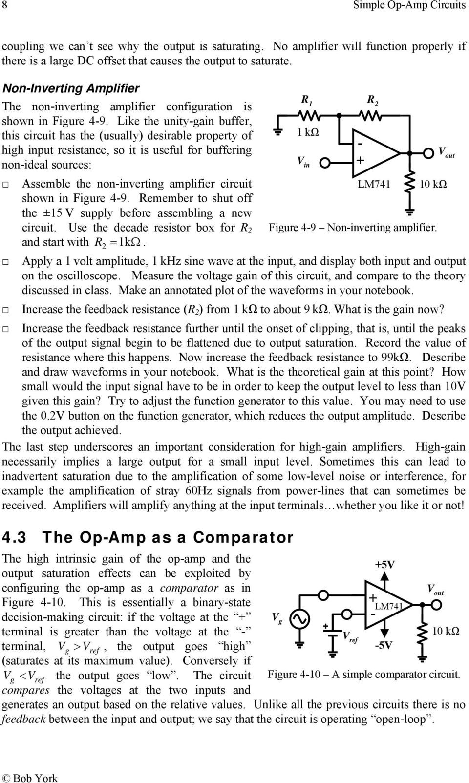 Simple Op Amp Circuits Pdf Headphone Amplifier Circuit This Is An Exercise In Like The Unitygain Buffer R 1 Has Usually Desirable 9 Opamp