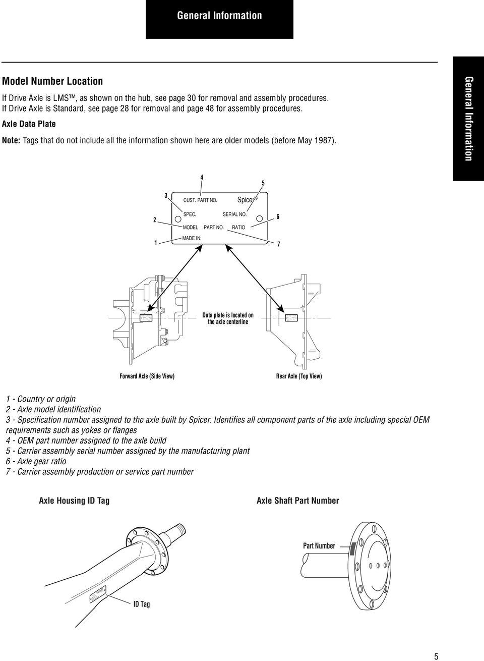 Spicer Wheel Ends  More time on the road  Service Manual