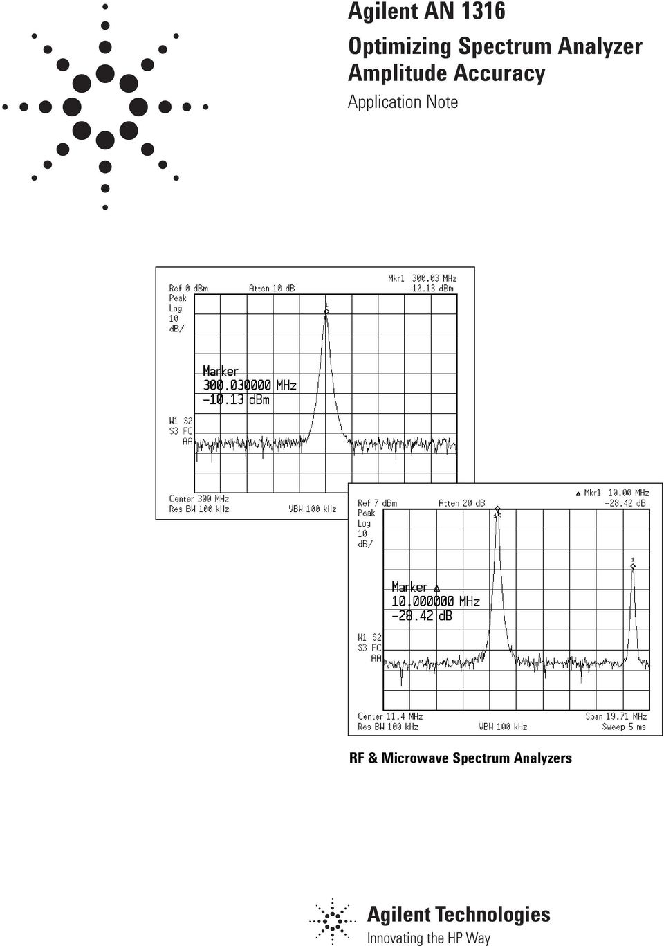 Accuracy Application Note RF