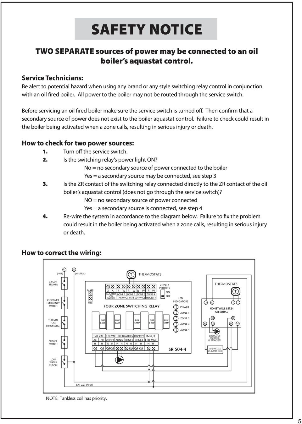 Basic Relay Diagram Blower Control Also Taco Zone Valve Wiring Diagram