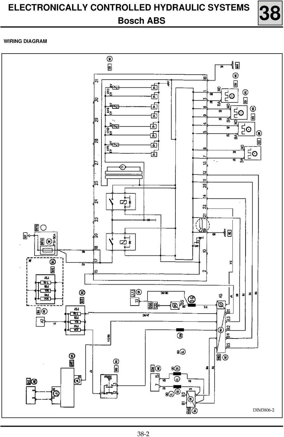 Basic Manual Contents Electronically Controlled Hydraulic Systems Pdf Pajero Wiring Diagram Index 53 Automotive Circuit 4 Key 104 Ignition Switch 120 Injection Computer 150 Rear Right Hand Wheel Sensor 151 Left 152 Front
