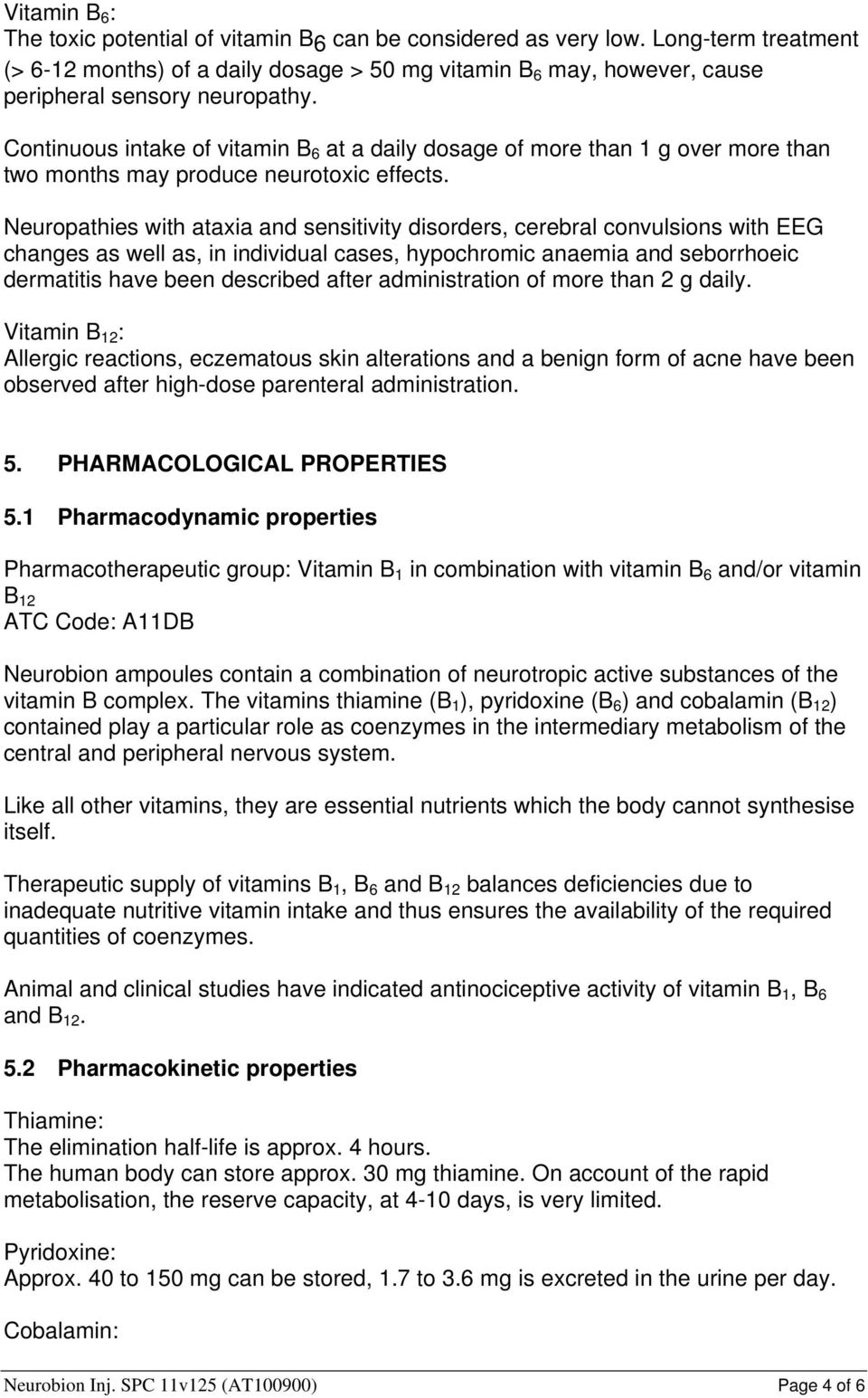 SUMMARY OF PRODUCT CHARACTERISTICS  100 mg - PDF
