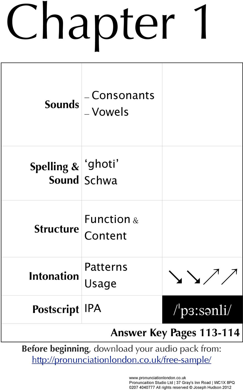 English  The Sound  A Practical Course in British English