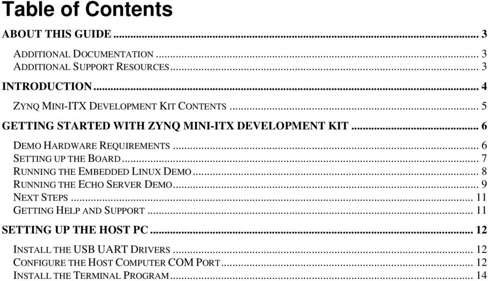 Getting Started with the Xilinx Zynq All Programmable SoC