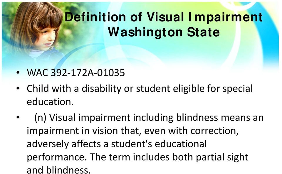 Insights Into Visual Impairments Pdf
