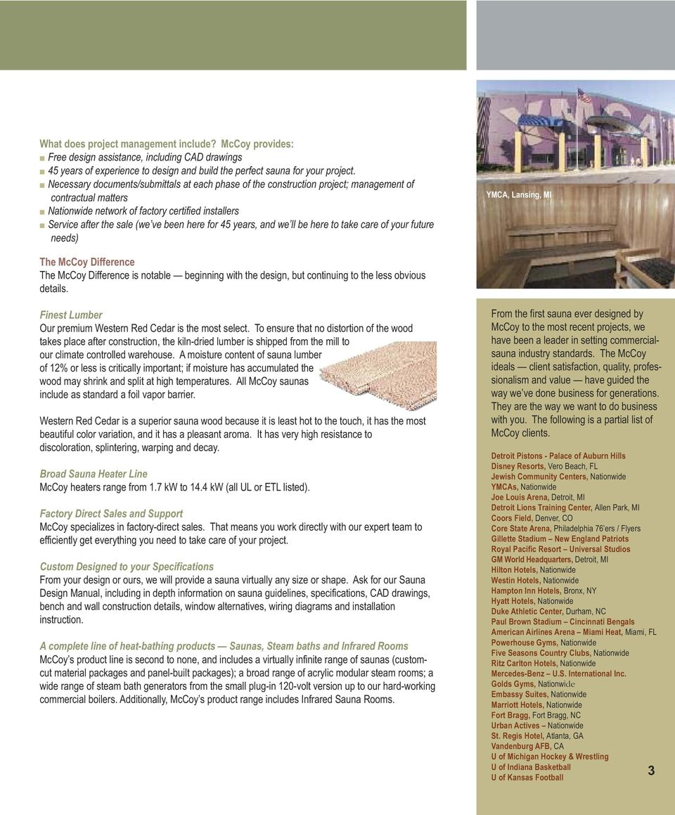 Sauna And Steam The Professional S Choice Pdf Wiring Diagram For 45 Years We Ll Be Here To Take Care Of Your Future Needs