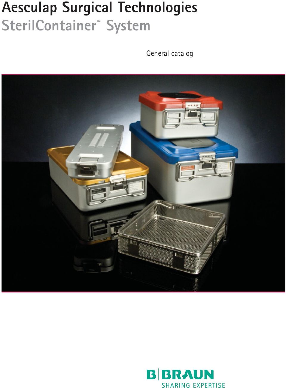 Aesculap Surgical Technologies SterilContainer System