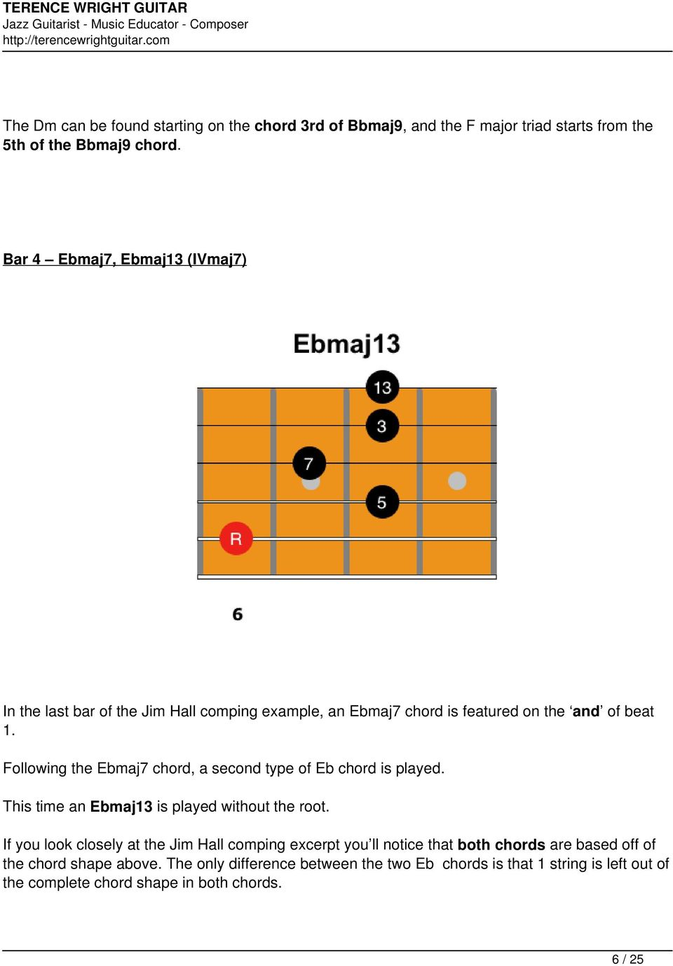 Jim Hall Chords And Comping Techniques Pdf