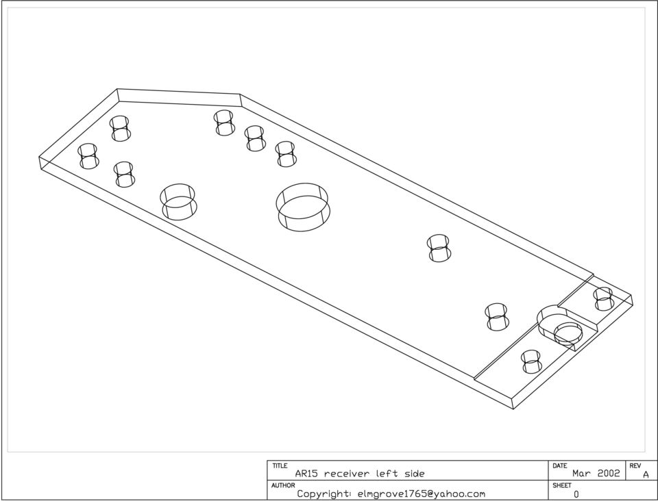 Readme For Scratchbuilt Ar15 Receiver Blueprints By
