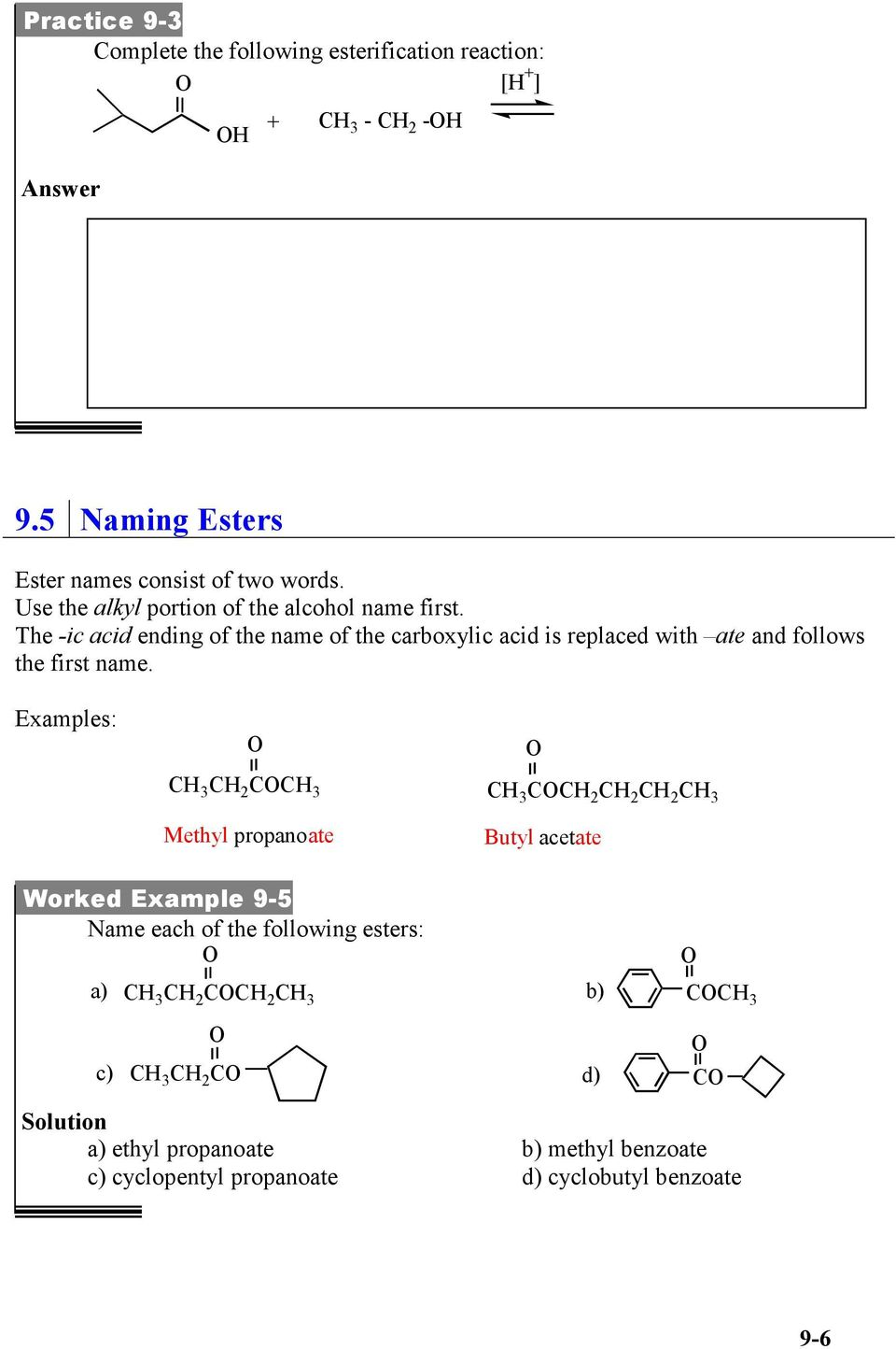 UNIT (9) CARBOXYLIC ACIDS, ESTERS, AMINES, AND AMIDES - PDF