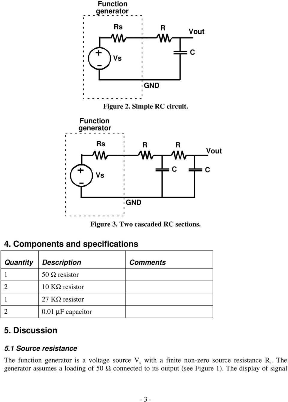 Step Response Of Rc Circuits Pdf Circuitlab Voltage Controlled Switch Off State Resistance 01 Quantity Description Comments 1 50 Resistor 2 10 K 27