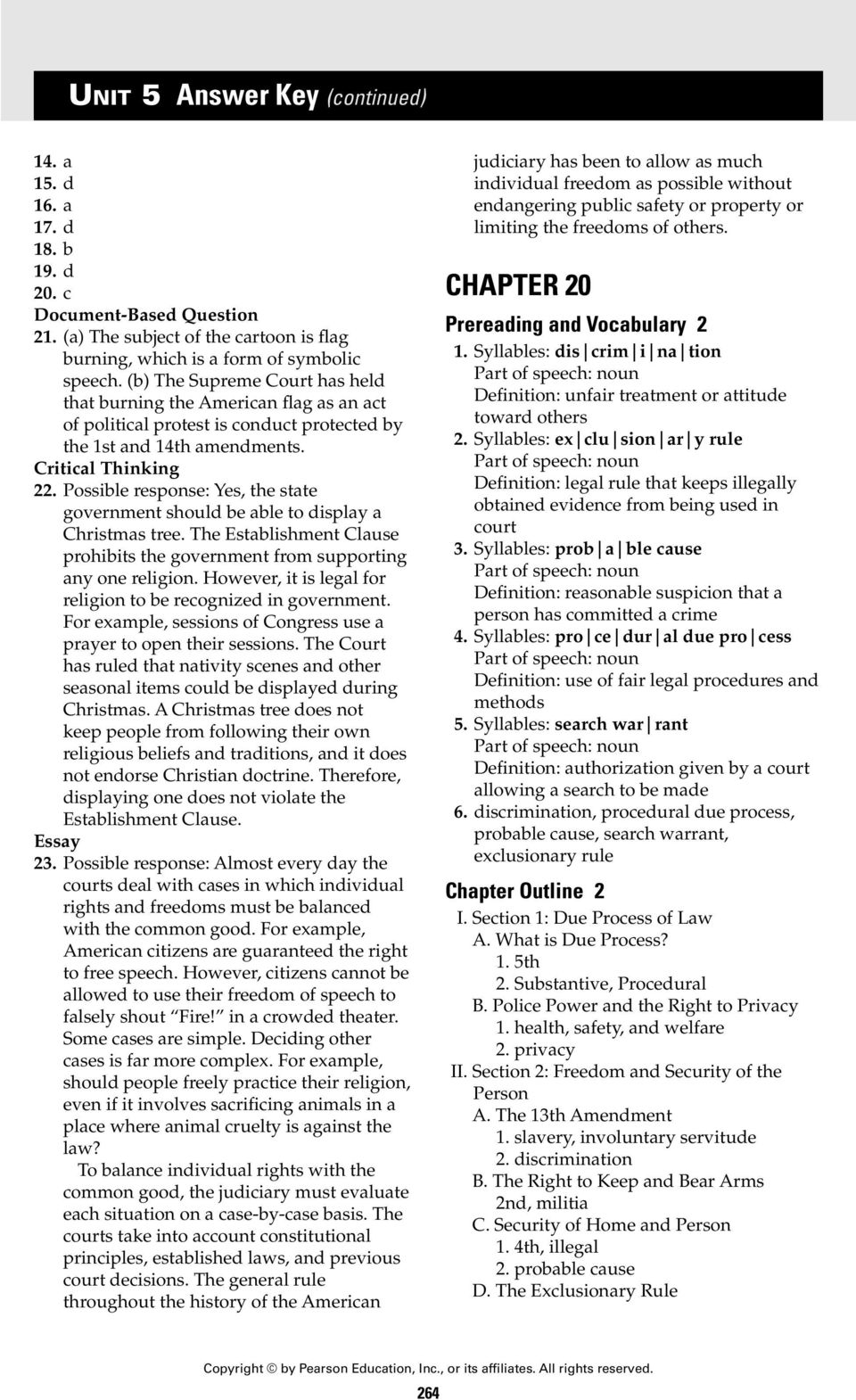 unit 5 answer key chapter 18 chapter 18 section 1 pdf rh docplayer net Percy Jackson The Lightning Thief Chapter 20 NC General Statutes Chapter 20