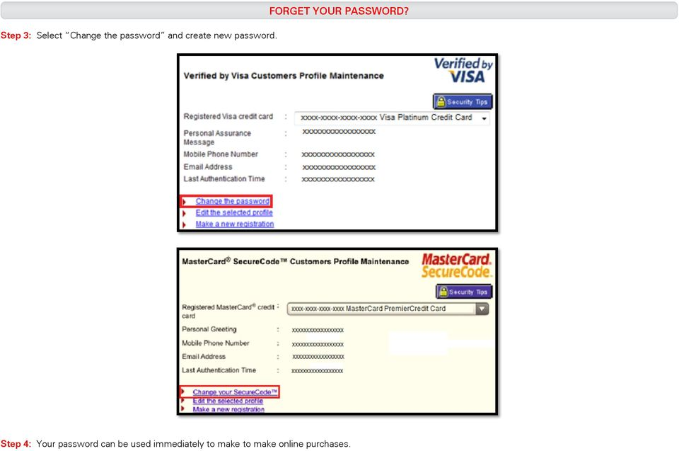 Secure Online Payment Verified by Visa and MasterCard SecureCode - PDF