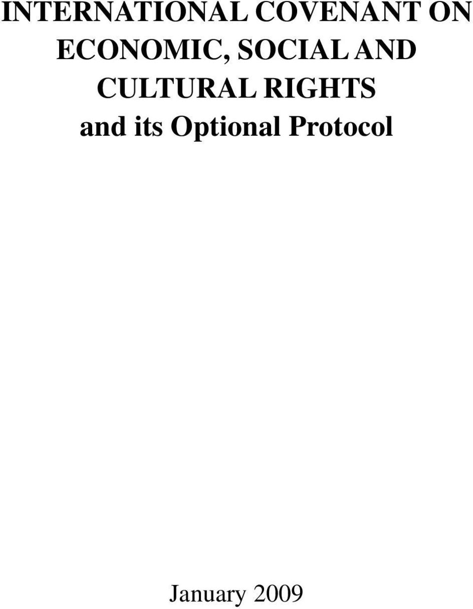 CULTURAL RIGHTS and its