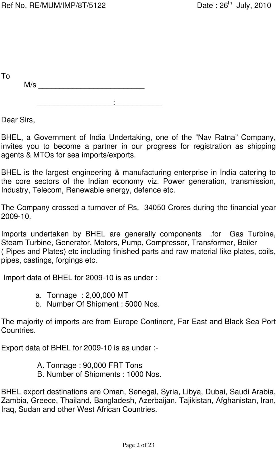 REGISTRATION OF SHIPPING AGENTS & MTO s - PDF
