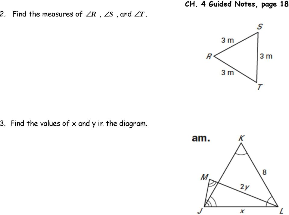 Chapter 4 Congruent Triangles PDF
