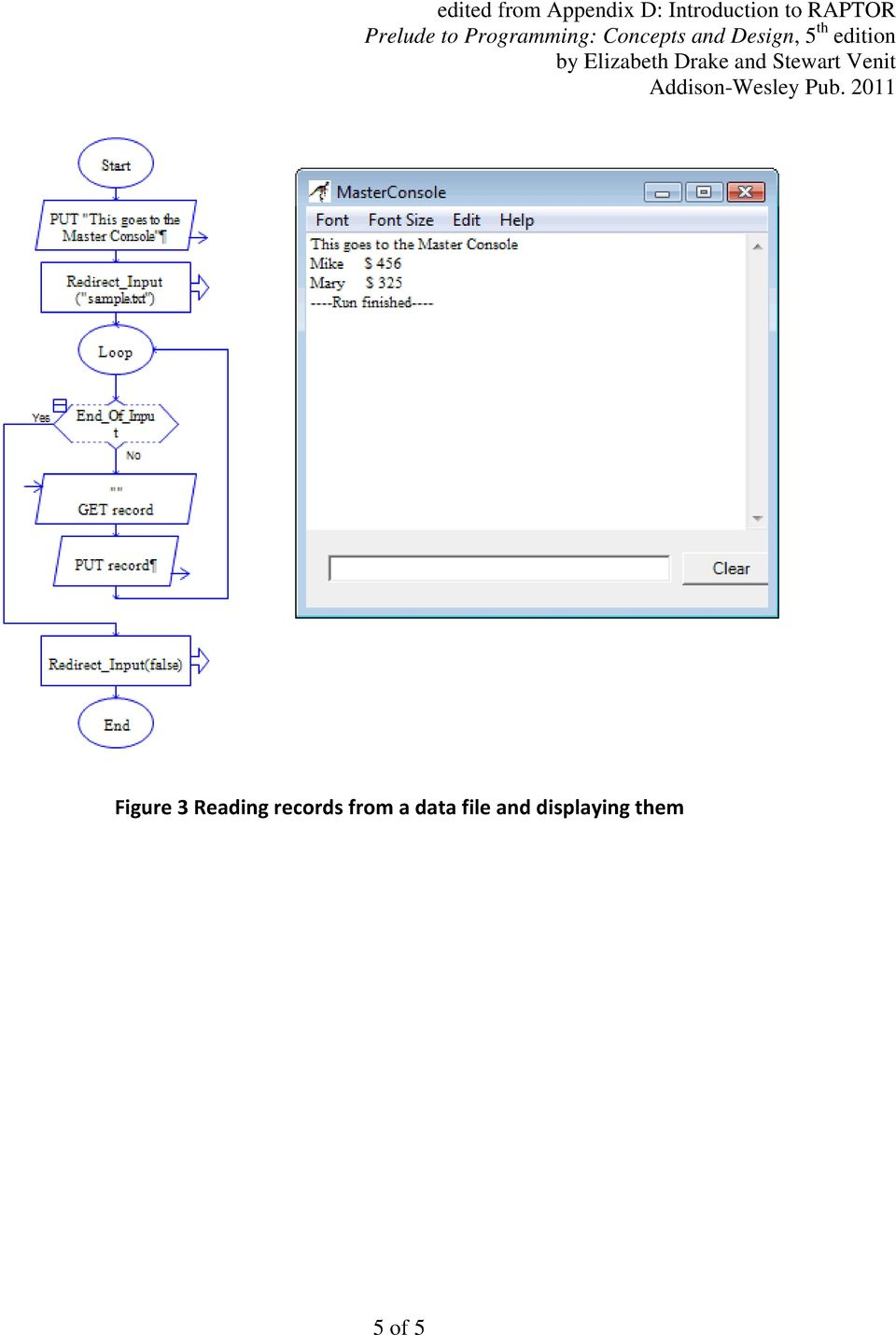 Introduction to RAPTOR: Data Files  Creating and Displaying