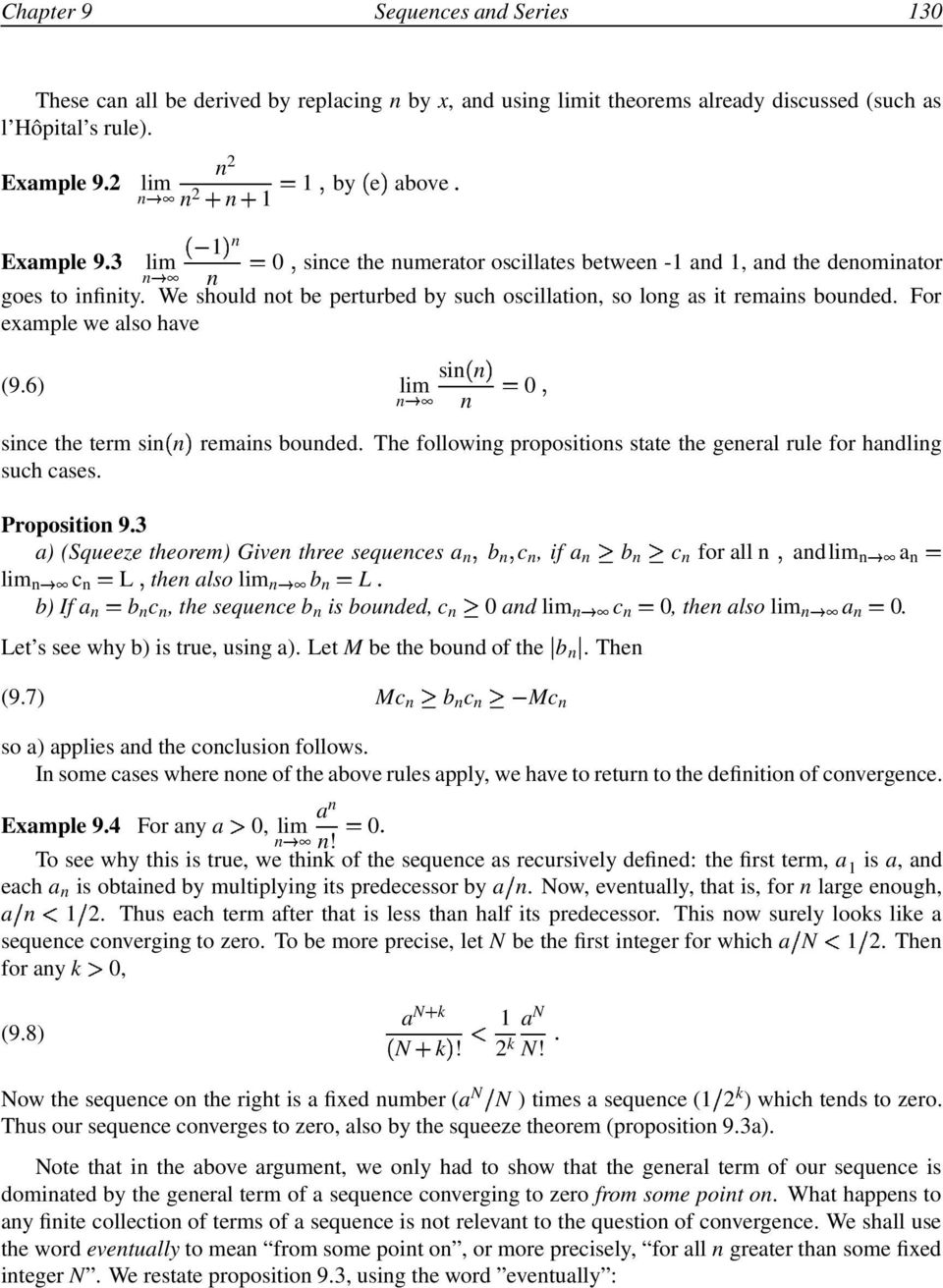 Sequences and Series - PDF
