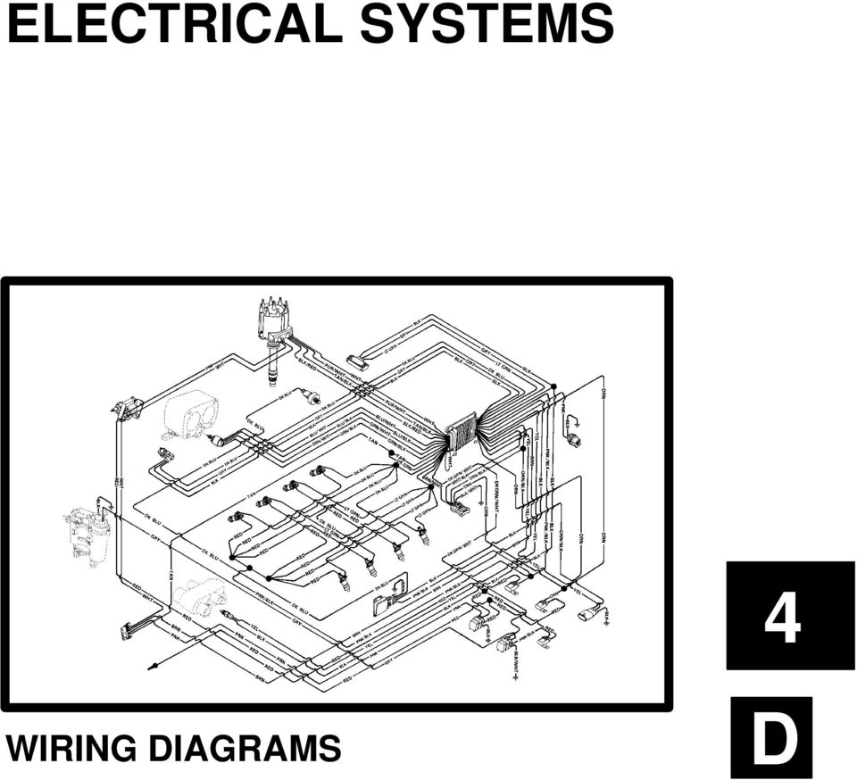 Electrical Systems Wiring Diagrams Pdf Chevy Engine Partment Diagram 2 Table Of Ontents Page Olors For Merruiser D Mm0x Mm V Lpha Thunderbolt Iv Gen Without Knock