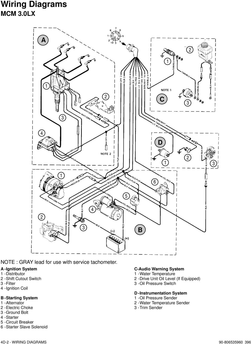 Electrical Systems Wiring Diagrams Pdf Kwik Wire Ford Alt Diagram Ground Olt Starter Ircuit Reaker Slave Solenoid Udio Warning System