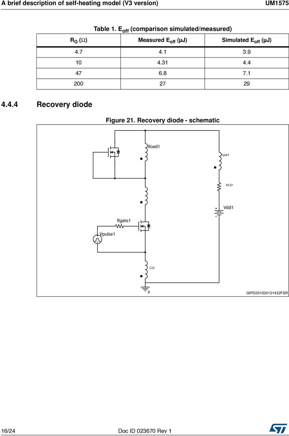Um1575 User Manual Spice Model Tutorial For Power Mosfets L33 Engine Diagram 47 41 39 10 431 44 68 71 200 27 29 444 Recovery