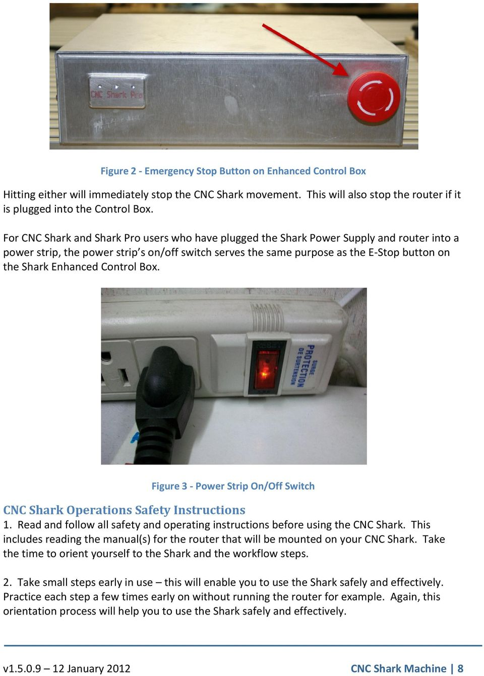Cnc Shark Tm Family 1 Pdf The Usb Router Repeater Is Made From Durable Aluminum It39s Nearly Figure 3 Power Strip On Off Switch Operations