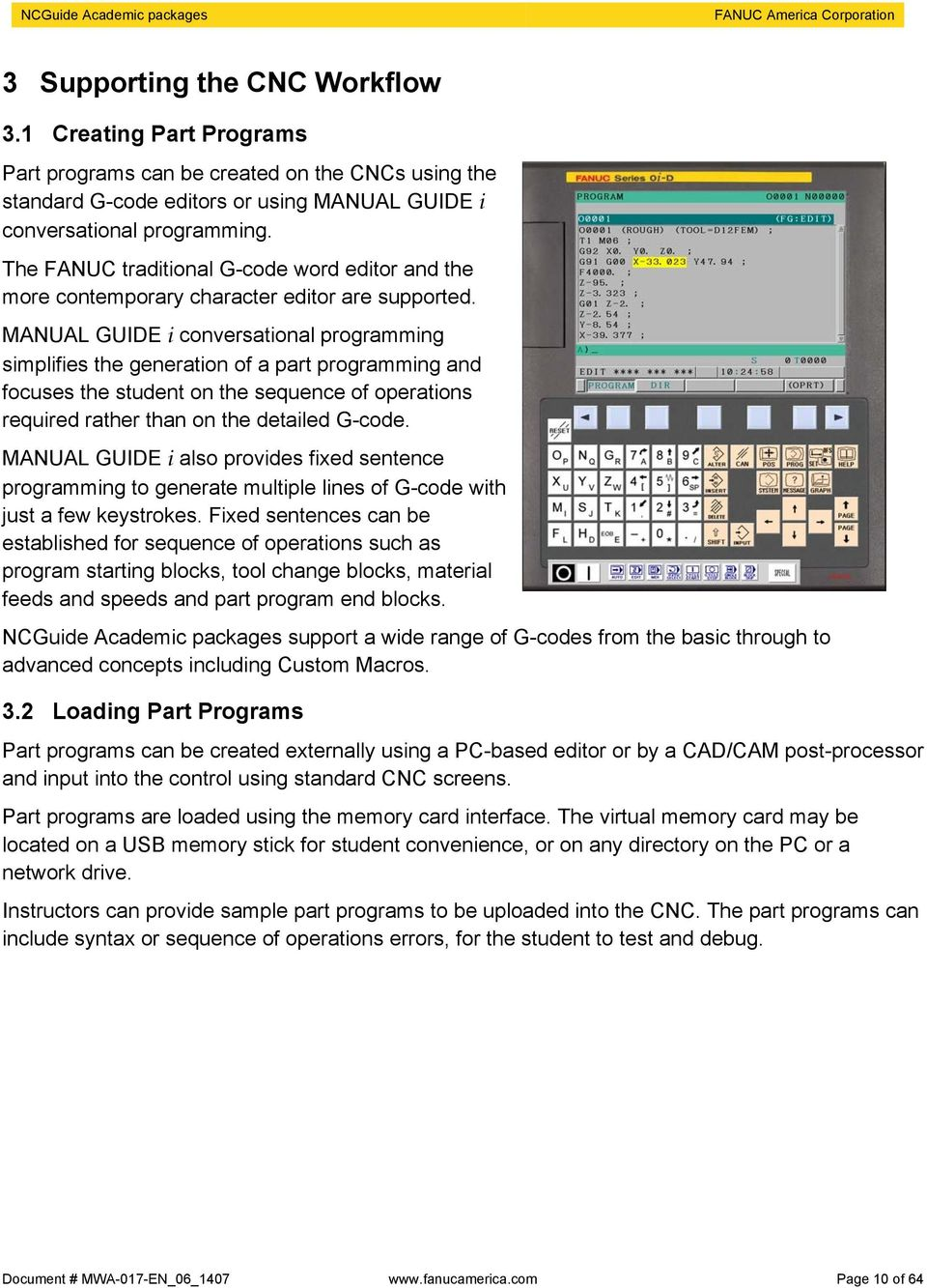 fanuc 21 tb Array - ncguide academic packages pdf rh docplayer net manual  ...