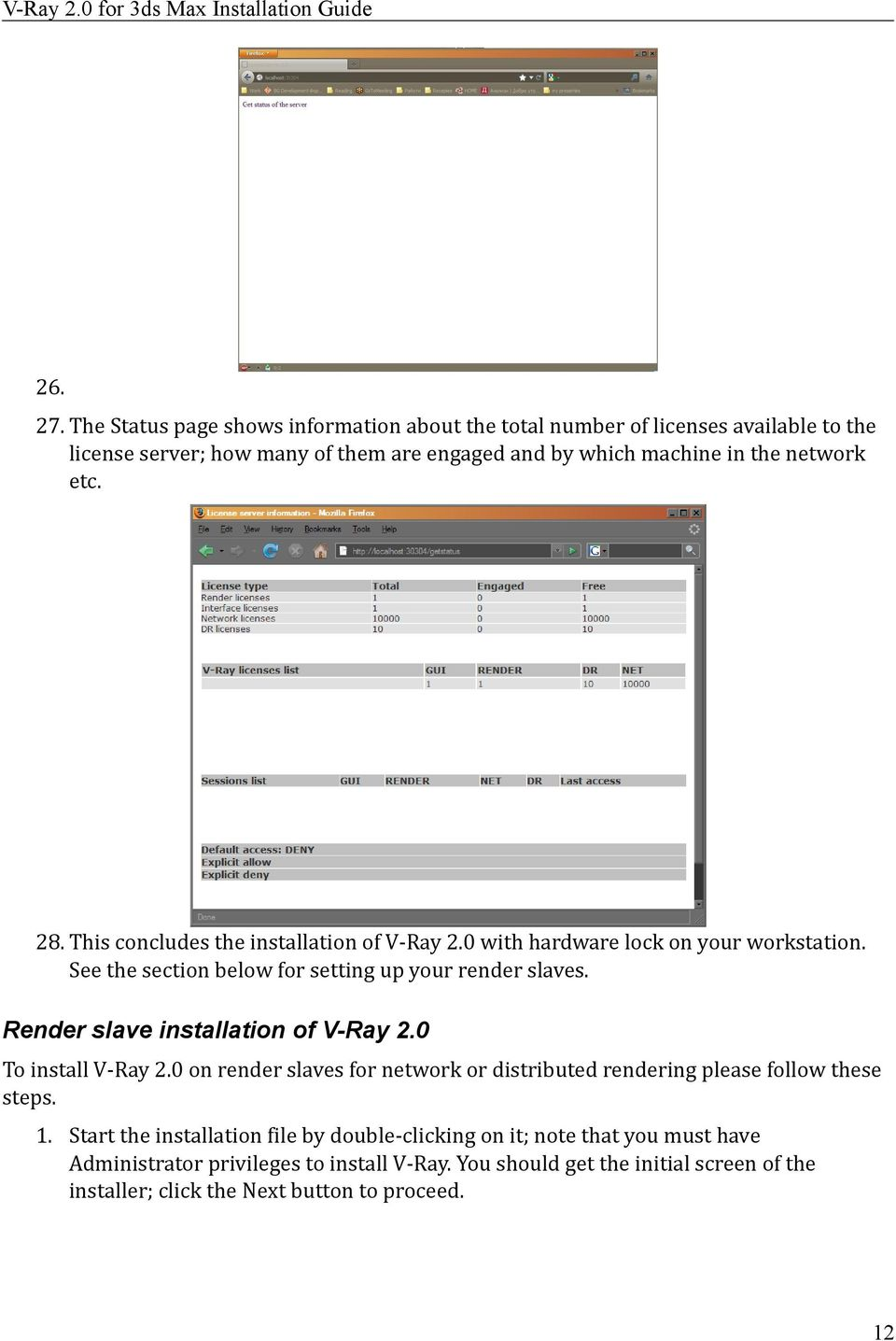 V-Ray 2 0 for 3ds Max Installation Guide - PDF