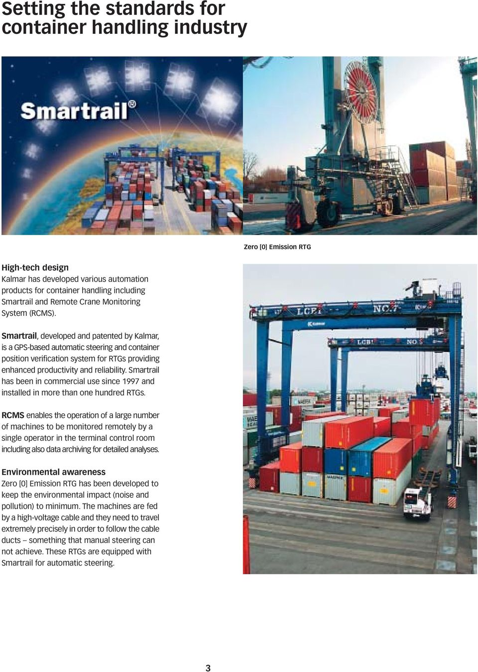 KALMAR RTG - FOR HIGHER PRODUCTIVITY - PDF