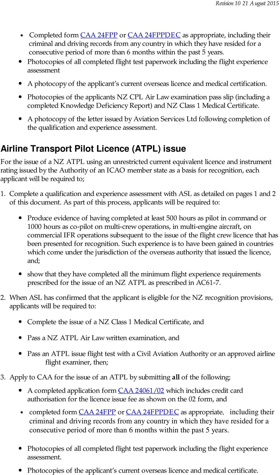 recognition of overseas flight crew licences and ratings pdf rh docplayer  net