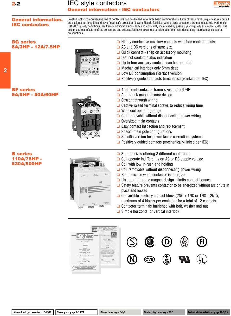 Iec Style Contactors Long Electrical And Mechanical Life Complete Motor Starter Wiring Diagram Each Of These Have Unique Features But All Are Designed For Finger