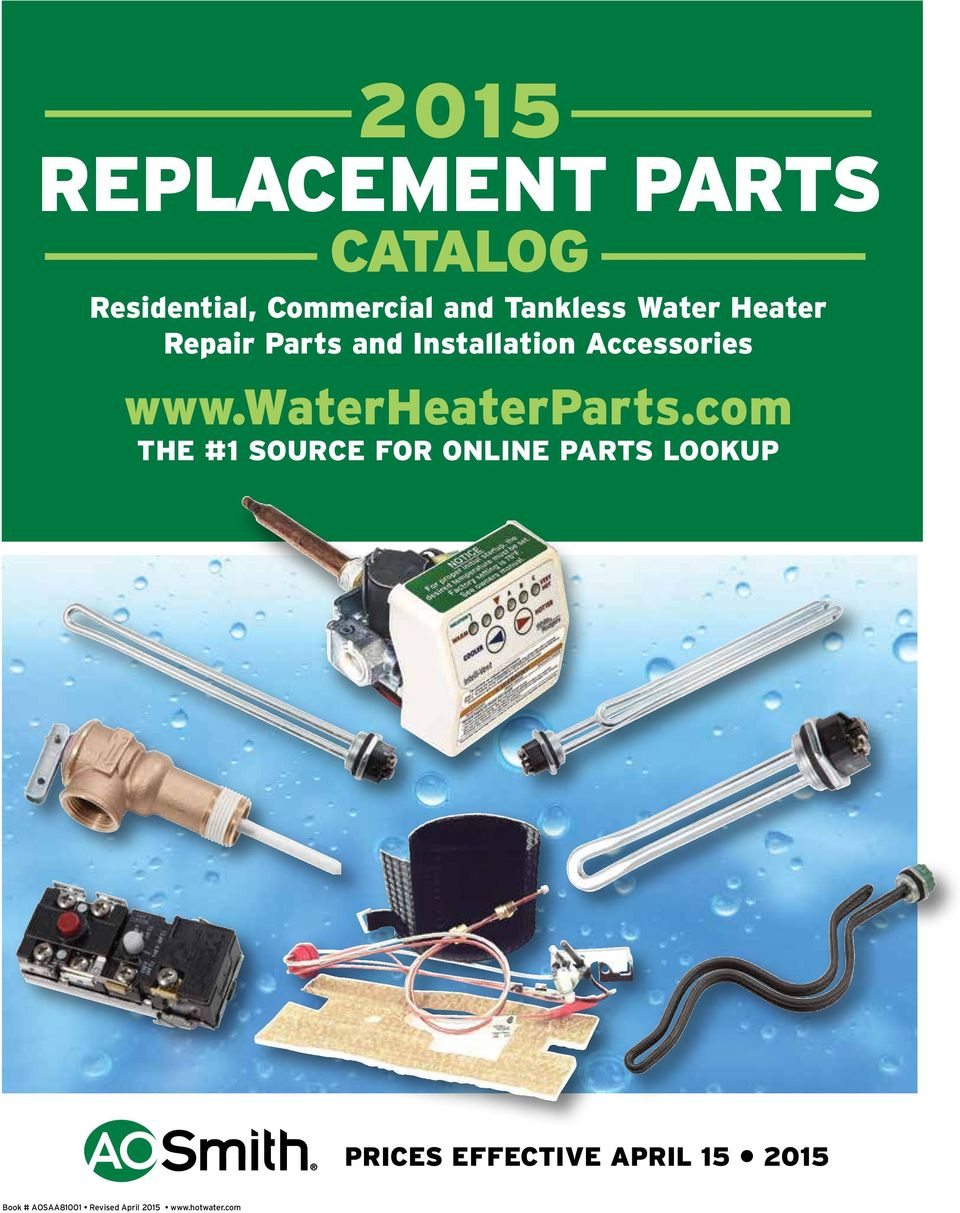 2015 REPLACEMENT PARTS - PDF