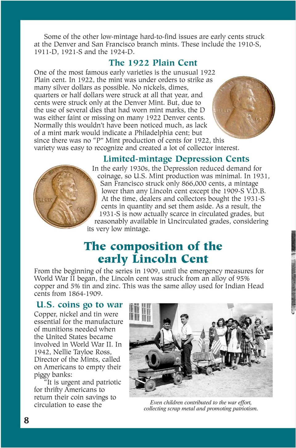 COLLECTORS GUIDE TO LINCOLN HEAD CENTS - PDF
