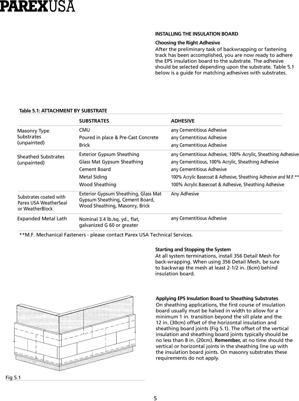 Exterior Insulation and Finish System  Application Guide - PDF