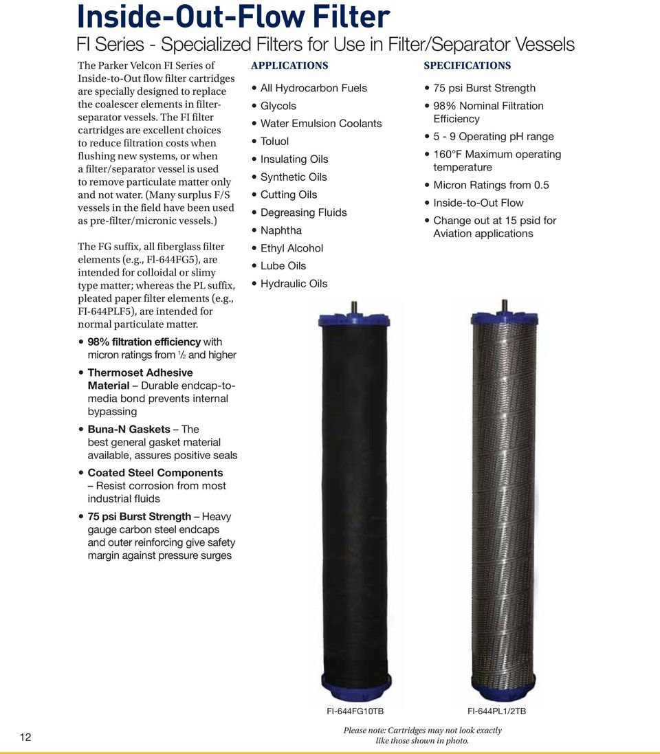 Micronic Filters For Aviation Fuel Handling Pdf Velcon The Fi Filter Cartridges Are Excellent Choices To Reduce Filtration Costs When Flushing New Systems