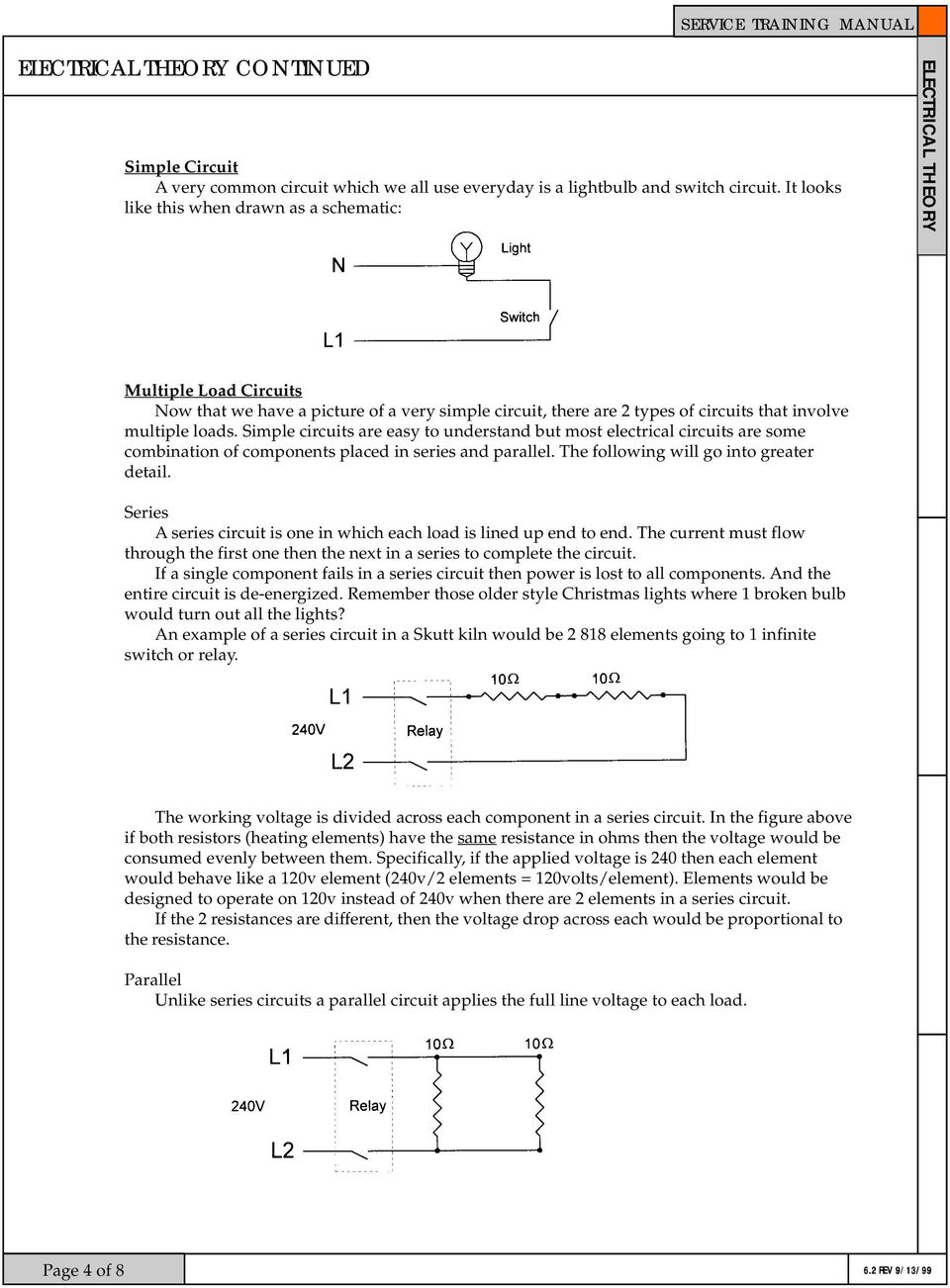 Service Training Manual Pdf Very Popular Images The Series Circuit Simple Circuits Are Easy To Understand But Most Electrical Some Combination Of Components Placed