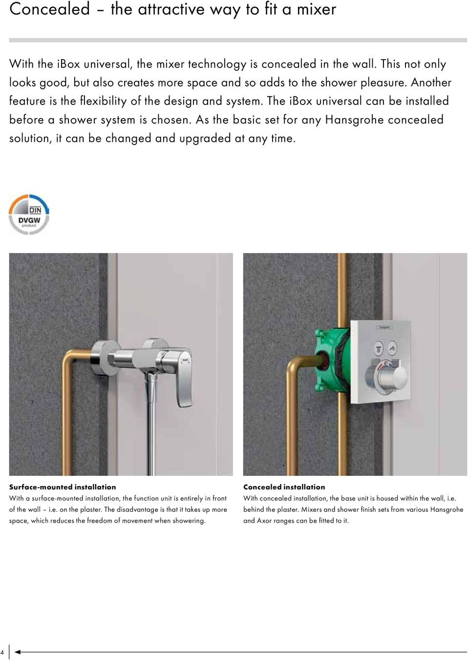 Hansgrohe Technical Information