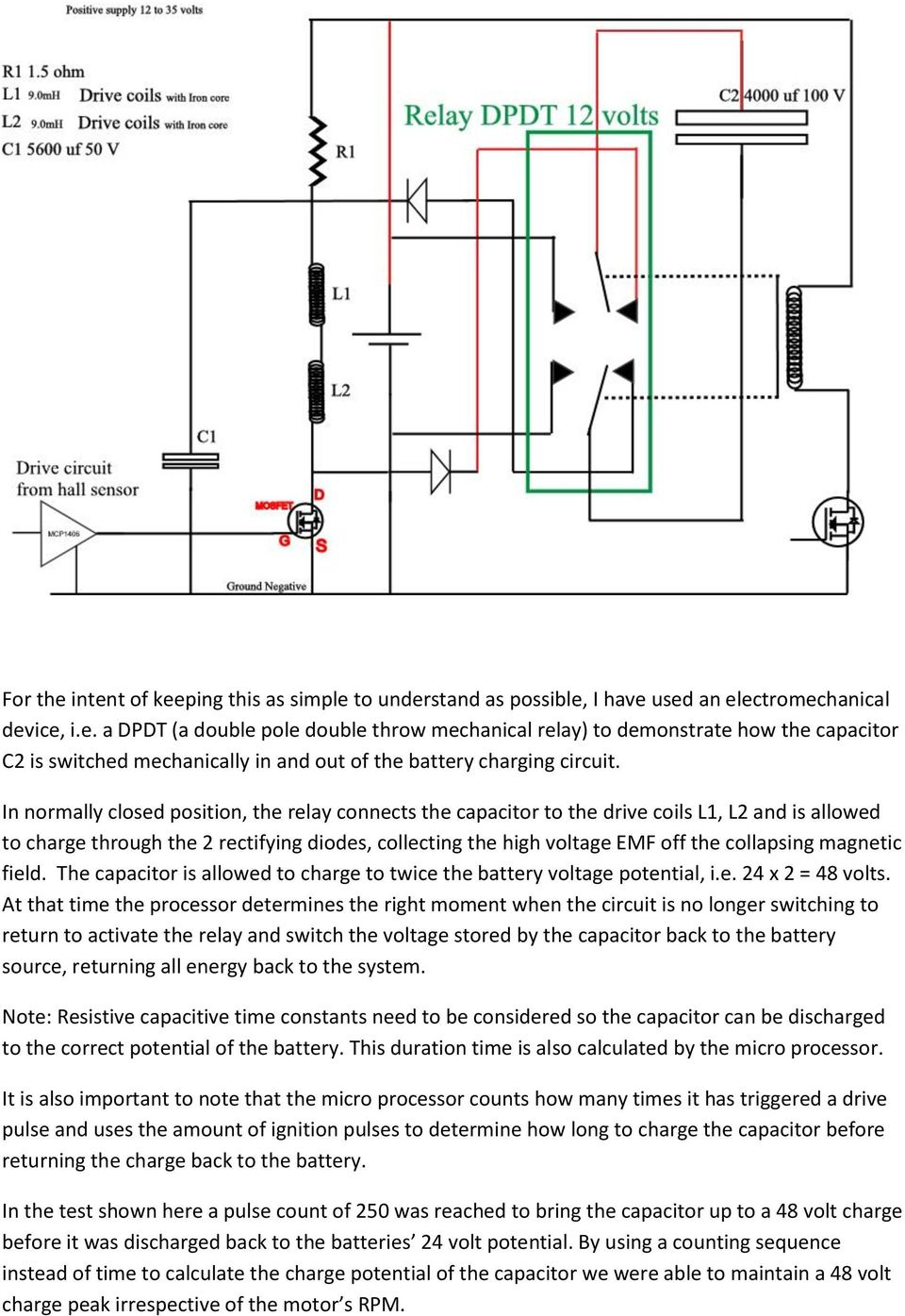 Panacea Bocaf On Line University Pdf Capacitor Charging Circuit The Is Allowed To Charge Twice Battery Voltage Potential