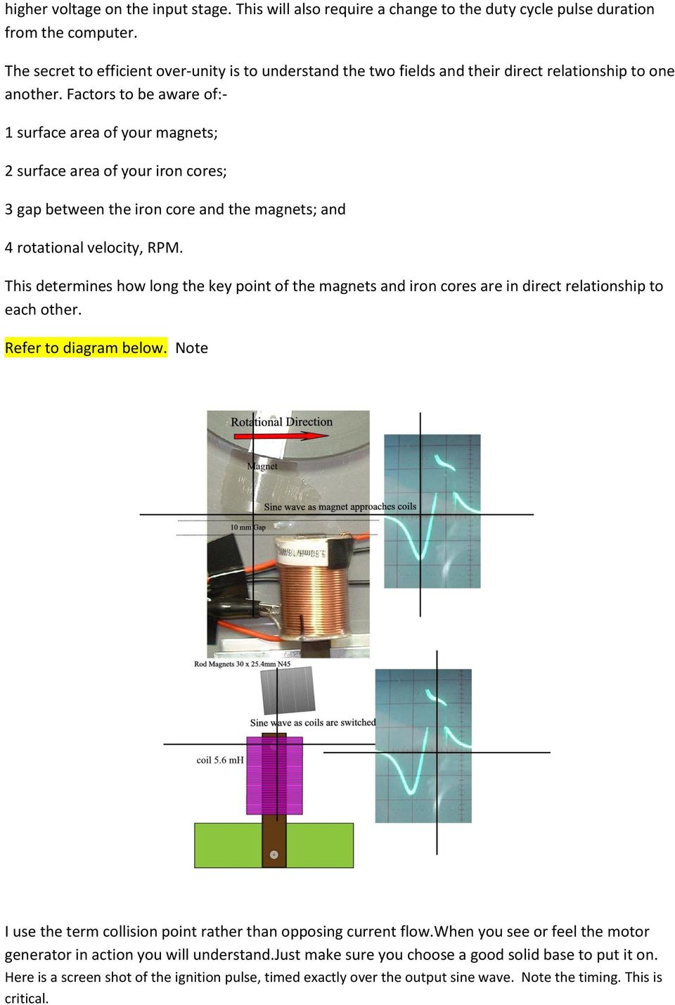 Rodin Coil Diagram Panacea Bocaf On Line University Pdf Factors To Be Aware Of 1 Surface Area Your Magnets 2