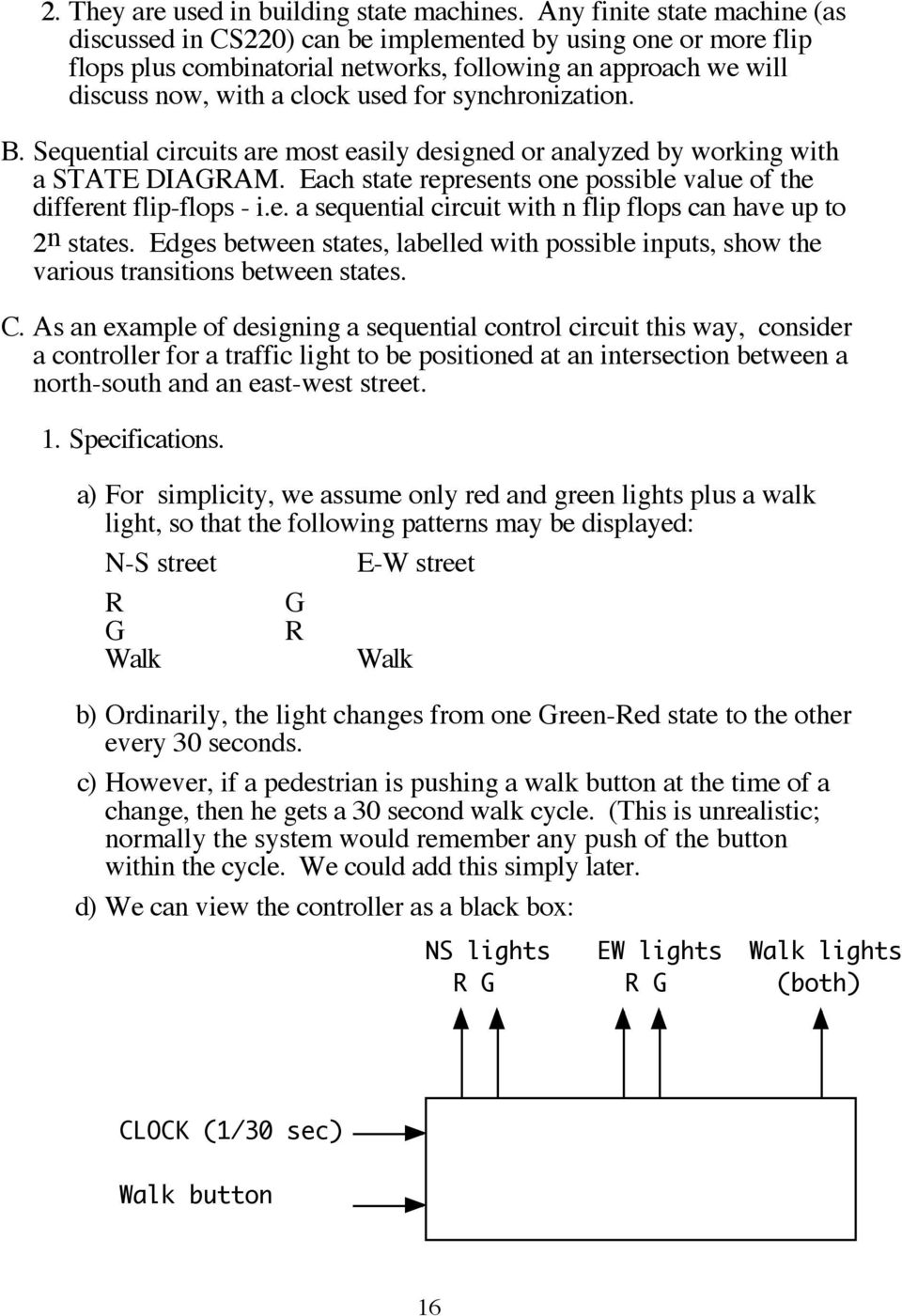 Cs311 Lecture Sequential Circuits Pdf Flip Flops Circuit B Are Most Easily Designed Or Analyzed By Working With A