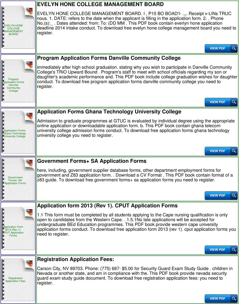 evelyn hone college application forms and fees pdf rh docplayer net Exam Study Tips SHRM Exam Study Guide
