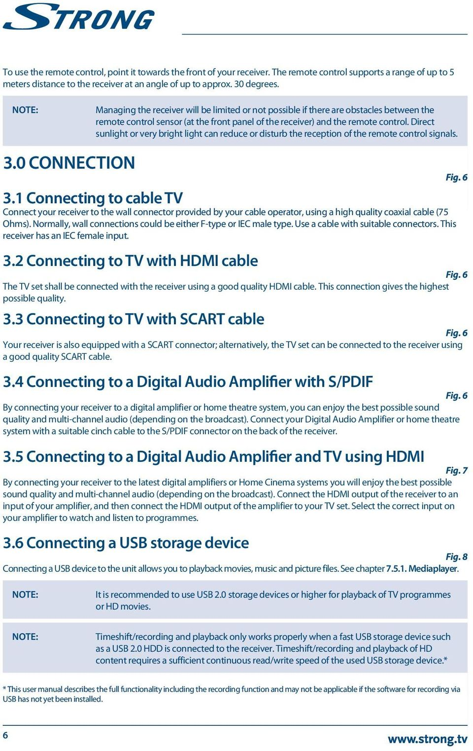 Digital High Definition Cable Receiver Pdf Wiring Diagram Home Theater Amplifier 5 1 Direct Sunlight Or Very Bright Light Can Reduce Disturb The Reception Of Remote Control