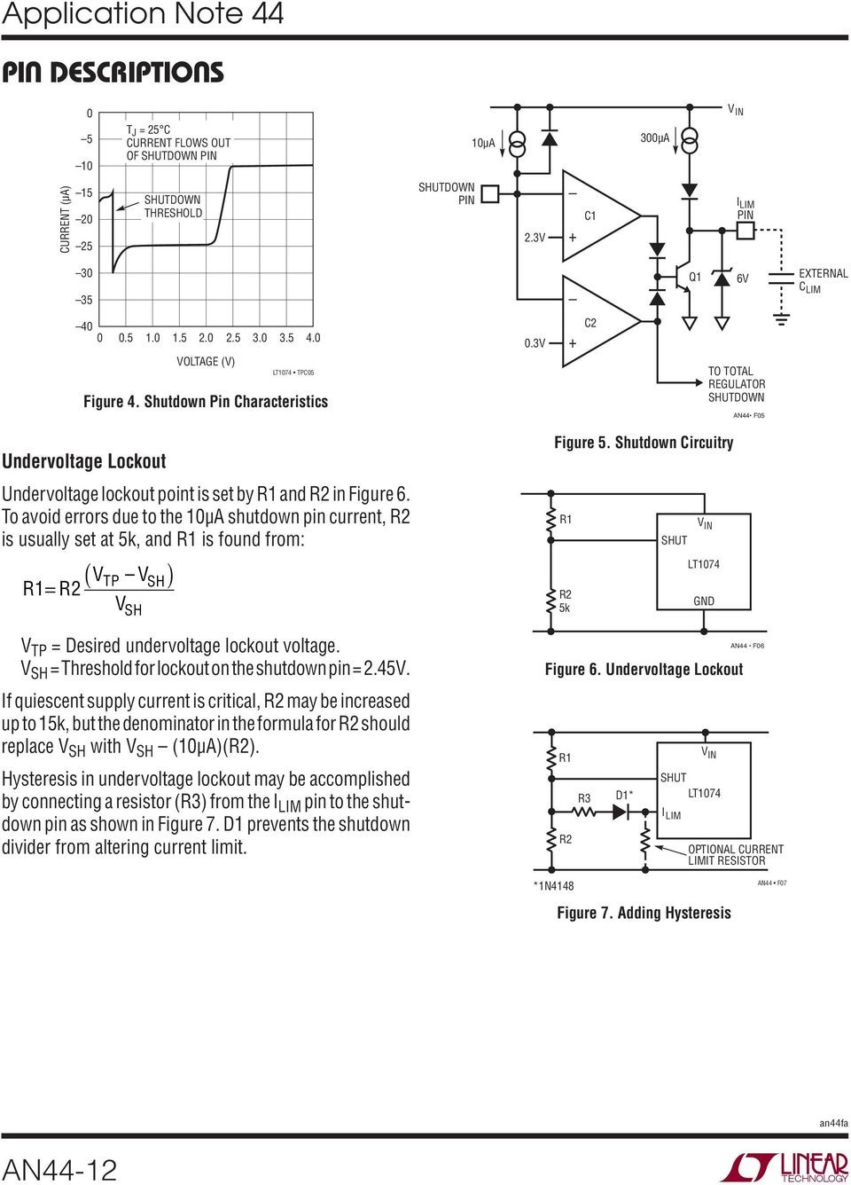 Application Note 44 September Lt1074 Lt1076 Design Manual An44 1 National Lm555 Datasheet Replacement For Se555 Ne555 Series And The Connection Diagram To Avoid Errors Due 1a Shutdown Pin Current R2 Is Usually Set At