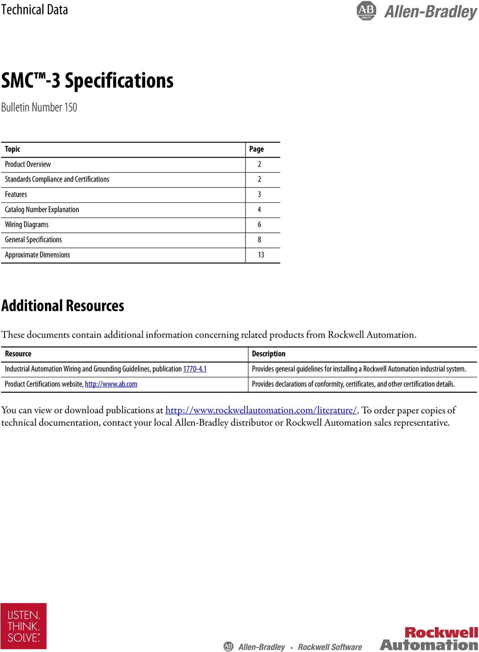 resource industrial automation wiring and grounding guidelines, publication  1770-4 1 product certifications website,